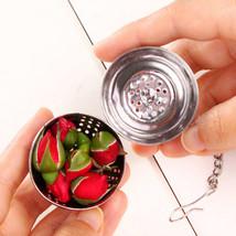 1Pcs Tea Ball Stainless steel Strainer Fashion Kichen Locking spice Mesh... - $1.98