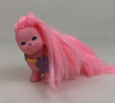 "Silkypup Toy 4"" Doll Figure TCFC Lady Lovely Locks Pink Pet 80s Toy Vint... - $17.77"