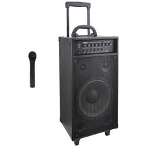 New Pyle Pro PWMA1050BT Wireless Portable Bluetooth PA Speaker System - $352.85 CAD