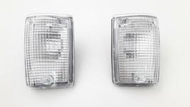 FIT FOR TOYOTA LAND CRUISER BJ62 HJ62 FJ62 1988-89 CORNER LAMP pair 8161... - $46.12