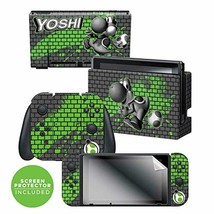 Controller Gear Nintendo Switch Skin & Screen Protector Set - Super Mari... - $31.77