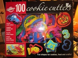 Baking Accs Wilton 100-Piece Cookie Cutter Set Colorful Plastic Decorating - $2.96