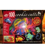 Baking Accs Wilton 100-Piece Cookie Cutter Set Colorful Plastic Decorating - €2,67 EUR