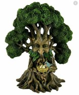 """Fairy Garden Tree Holding Nest,  Birds Nest in a 13"""" Tree, Mythical Fore... - $54.99"""