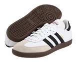 Mens Adidas Samba Classic White Athletic Indoor Soccer Shoe
