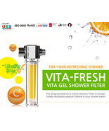 VitaFresh Vita Gel Shower Filter Vitamin C Gel shower Cartridge UBS - $59.90