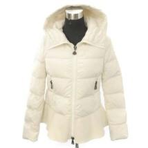 MONCLER Nesea Down Padded Jacket Nylon White Outer 45880/999/1 Women's S... - $1,144.60