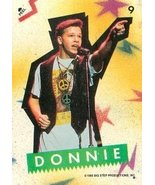 Donnie Wahlberg trading card sticker (New Kids on the Block) 1989 Topps #9 - $4.00