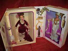 Victorian Lady & Grecian Goddess Collector Edition Great Eras Barbies do... - $59.99