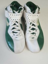 Nike LeBron James SLDR V Men's SZ 12.5 Green/White Basketball Shoes - $19.80