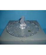 Waterford Crystal Seahorse Handled Server Tidbit in Box - $77.99