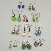 Vintage Lot of 11 Colorful 1990's Earrings Dangle - $91.16