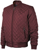 Men's Lightweight Ring Zipper Quilted Water Resistant Slim Bomber Jacket JASON image 12