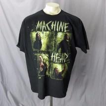 Machine Head UNTO THE LOCUST 2012 OTTAVA Plague Tour T-Shirt M HEAVY METAL - $15.40