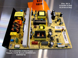 Rca LED48G45RQ Power Supply / Led Board AE0050321 ER996P-B - $29.92