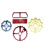 Mickey Mouse Clubhouse and Gears Set of 5 Cookie Cutters USA PR1597 - $11.99