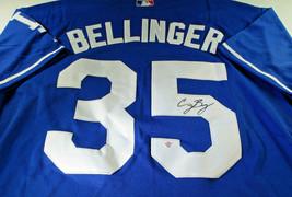 CODY BELLINGER / L.A. DODGERS / AUTOGRAPHED DODGERS BLUE PRO STYLE JERSEY / COA