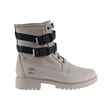 Timberland Jayne Wp Double Buckle Women's Boot Light Taupe Nubuck TB0A24QG - $180.00