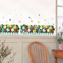 Flourish Fence - X-Large Wall Decals Stickers Appliques Home Decor - $10.87
