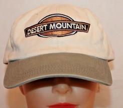 DESERT MOUNTAIN Adjustable Baseball Cap Hat - $17.32