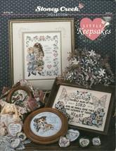 Little Keepsakes Stoney Creek Collection Cross Stitch Pattern Book No. 99  - $6.99