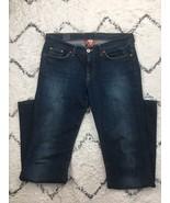 Lucky Brand Women's Sweet N Low Sz 6/28 Flare Jeans Dark Wash Stretch 81... - $28.88
