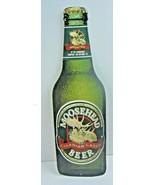 "Vintage MOOSEHEAD CANADIAN LAGER BEER Bottle Metal Sign 24"" Tall ~ 7 1/2... - $60.78"