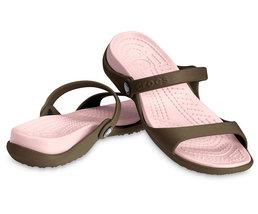 Crocs Cleo Slip On Slingback Footbed Sandal - $29.99