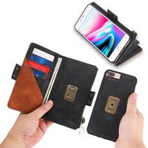 K31) Leather Wallet Flip Magnetic Back Cover Case For Apple I Phone - $61.65
