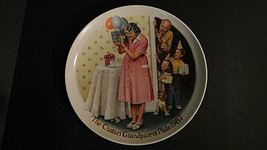 Knowles Fine China,The Csatari Grandparent Plate,1987,*The Sneak Preview... - $14.84