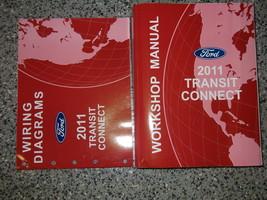 2011 FORD TRANSIT CONNECT Service Shop Repair Manual Set OEM W Wiring Di... - $128.65