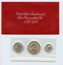 United States Bicentennial Silver Uncirculated Set 1776 1976 - $17.82