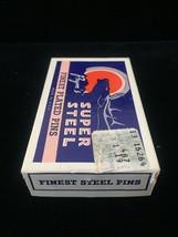 Vintage 60s Prym's Super Steel Finest Plated Pins packaging image 3