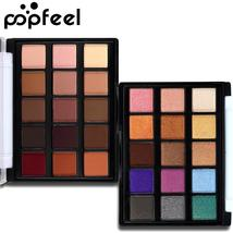 2017 Makeup Mini Eye Palette Shimmer and Matte Color Cosmetics Pigment 15 Color  - $4.38