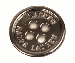 "Ralph Lauren Lauren Flat Silver Metal Color Replacement Pocket button .70"" - $4.90"