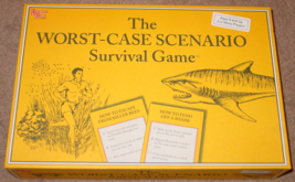 WORST CASE SCENARIO SURVIVAL GAME 2001 UNIVERSITY GAMES COMPLETE EXCELLENT - $20.00