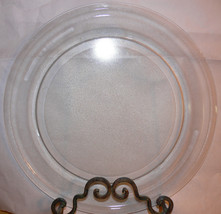 """14 1/8"""" GE Microwave Glass Turntable Plate/Tray Clean Used Cond 9 3/4"""" Roller - $58.79"""