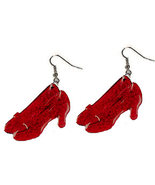 Funky Wizard of Oz Shoes DOROTHY RUBY SLIPPERS ... - $5.97