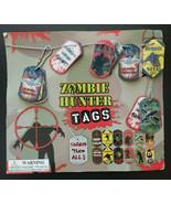 Vintage Zombie Hunter TagGumball Vending Machine Charms Header Display C... - £28.79 GBP
