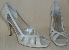 AK Anne Klein NOVIA Peep Toe Shoes Pumps Women's Size US 9, NEW , No Box - $19.79