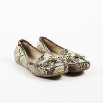 Stuart Weitzman Brown Snakeskin Driving Loafers SZ 7.5 - $65.00