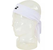 Babolat Tennis Bandana Tieband White Sports Headband Unisex White 174106 - £13.12 GBP