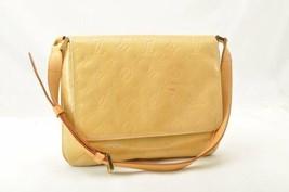 LOUIS VUITTON Vernis Thompson Street Shoulder Bag Beige M91008 LV Auth 1... - $170.00