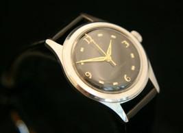 Beautifully restored rare WWII vintage Grenar Swiss 17 jewel, men's wris... - $123.75