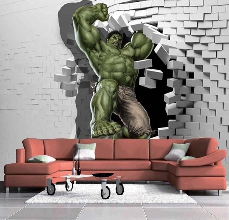 Home Design 3d Keeps Crashing: 3D Hulk Photo Wallpaper Unique Design Hulk Avenger