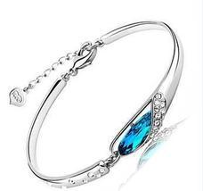 Blue Conch/Teardrop 925 Sterling Silver Bracelet - $87.99+
