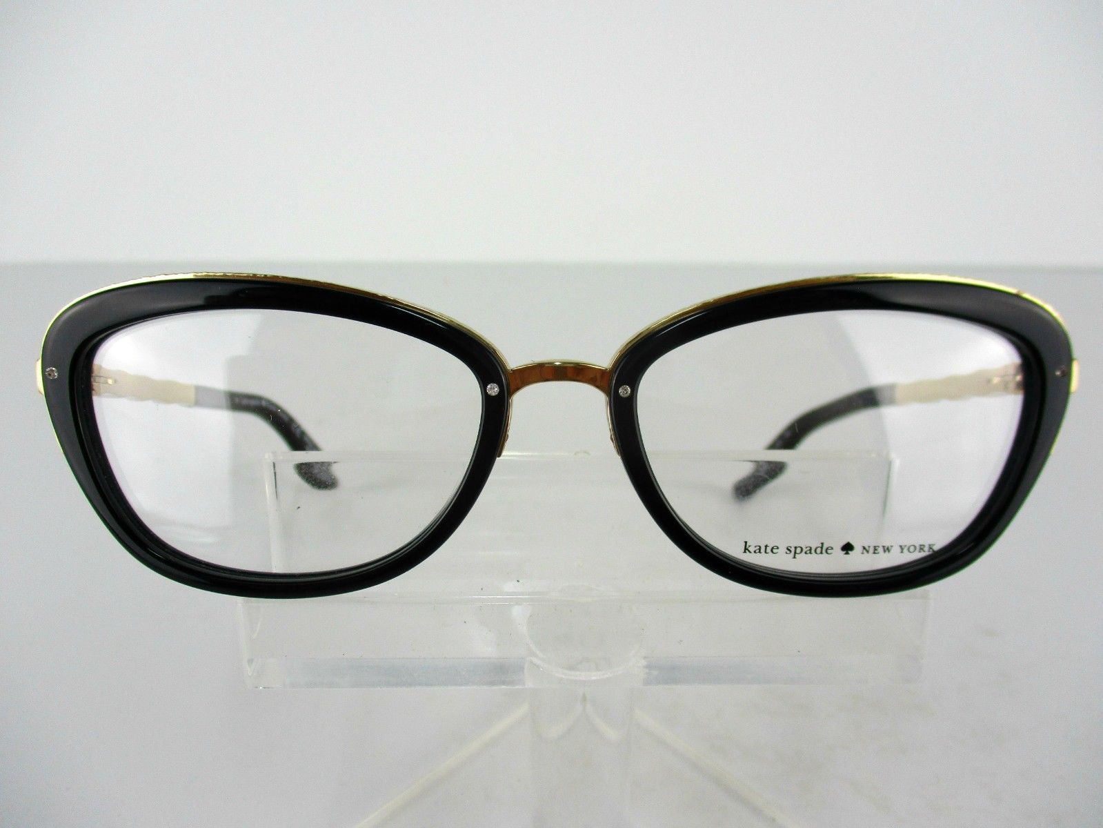 6769353c0f Kate Spade Maribeth (CY5) Black   Gold 52 x 17 135 mm Eyeglass Frames