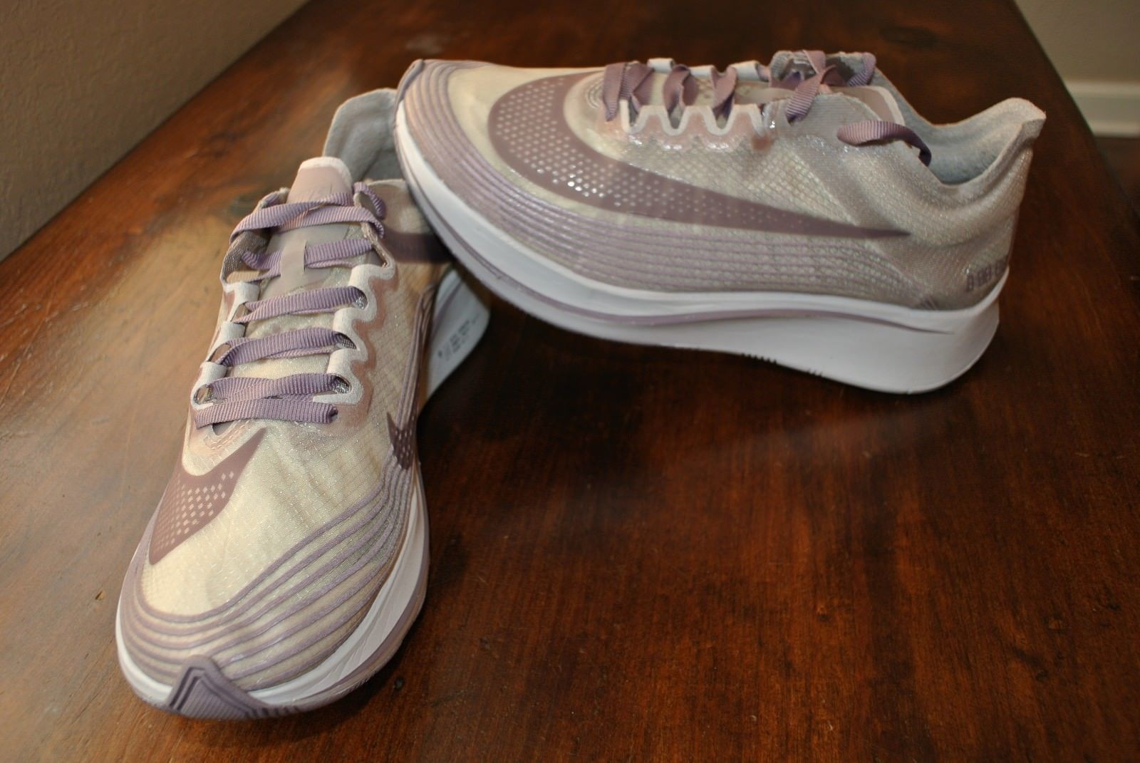 845c8329ecf76d NIKE NikeLab ZOOM FLY SP CHICAGO MARATHON TAUPE GREY AA3172 200 US MENS SZ 5