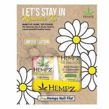 Hempz Let's Stay In Manicure Kit