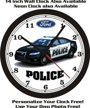FORD TAURUS POLICE CAR WALL CLOCK-FREE US SHIP-NEW! - $28.70+